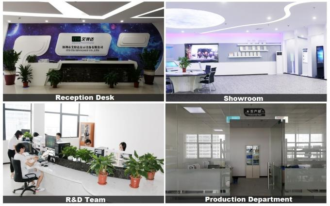 19 inch industrial LCD touch monitor displays with VGA,DVI,HDMI input for industrial use