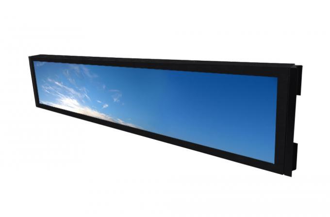 VESA / Open Frame Stretched Bar LCD Monitor Anti - Vibration