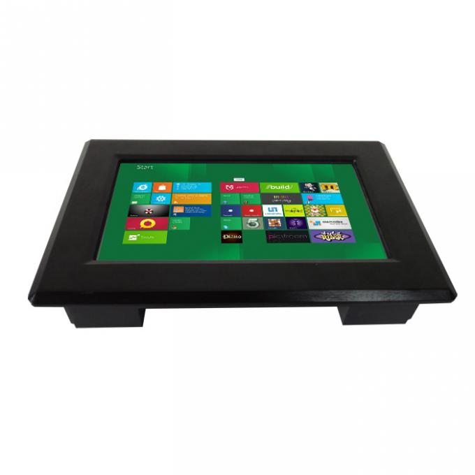 7 Inch Panel Mount LCD Monitor With Projected Capacitive Touch Screen