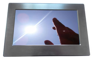 "China Widescreen 15.6"" Sunlight Readable LCD Monitor Panel Mount View Angels supplier"