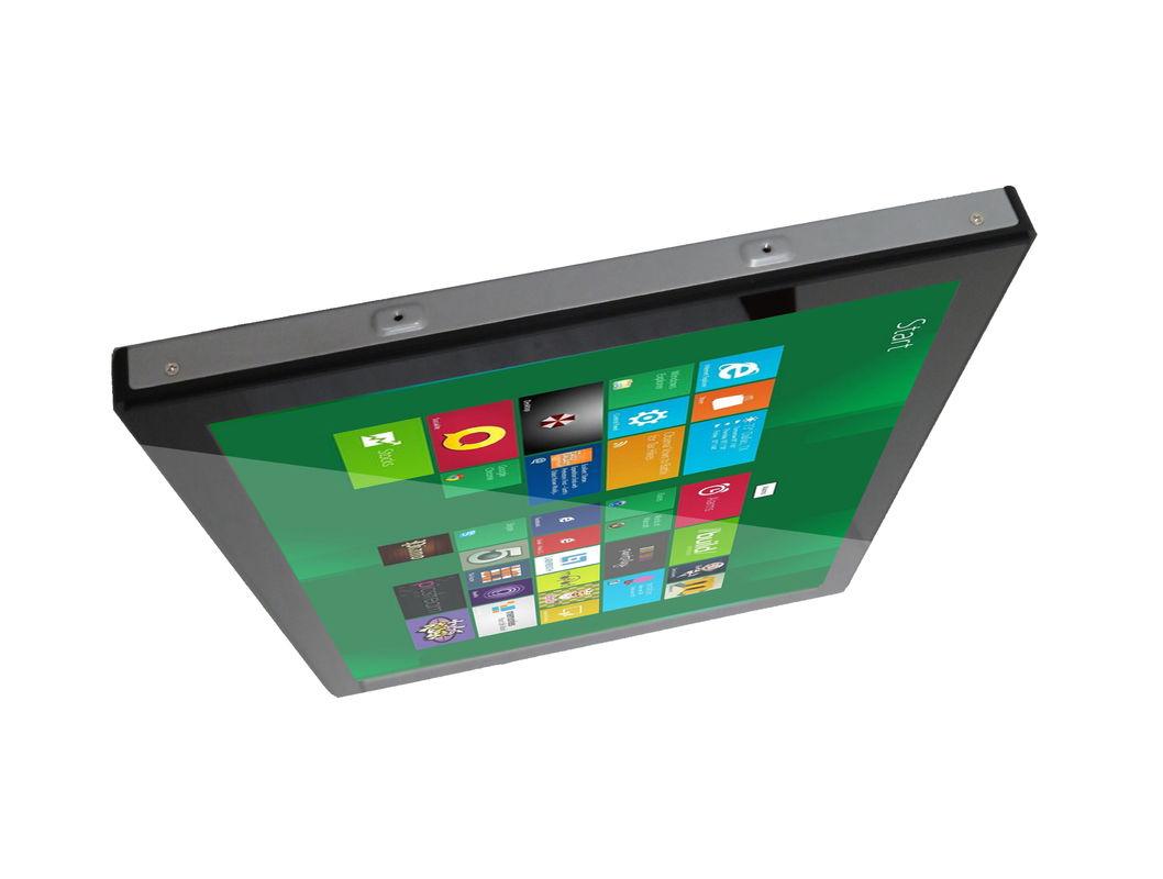 19 inch industrial flush mount PCAP touchscreen LCD Monintor