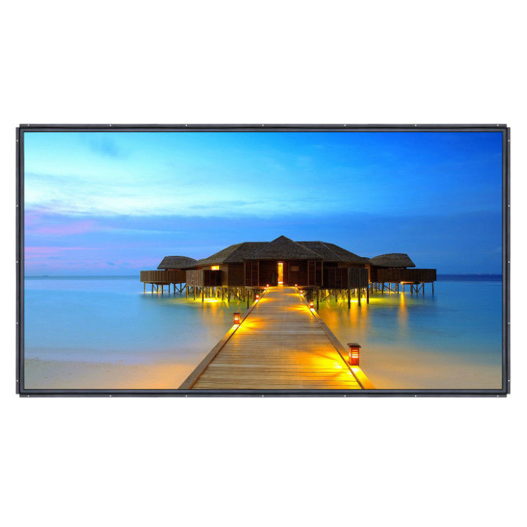 86 Inch 4K Large Format Open Frame LCD Monitor DP Input