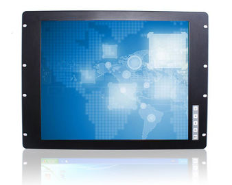 China Industrial 19 Rack Mount Monitor / LCD Panel Embedded Mount With VGA Input factory