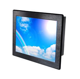 15 Inch Industrial Panel PC Touch Screen , All In One Touch PC Steel Chassis