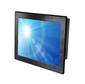 Durable Industrial Touch Panel PC / Panel Mount Touch Screen Pc 1200nits Brightness