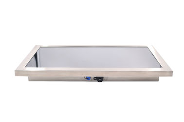 "Food Industry Rugged Touch Screen Monitor 55"" 316 Stainless Steel IP65 NEMA 4X"