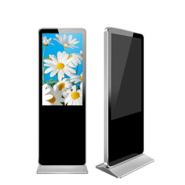 "China All In One Lcd 55"" Digital Signage Displays Floor Stand Android Totem Kiosk factory"