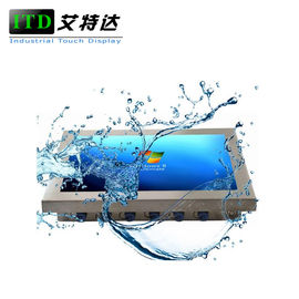 Heavy Duty Rugged LCD Monitor Stainless Steel Waterproof Touch Screen IP66 IP67