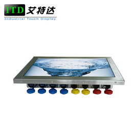 Computer Windows Linux Rugged Panel PC IP65 IP67 Waterproof Touch Screen High Brightness