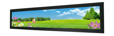 China Supermarket Shelf Edge Stretched Bar LCD Monitor 16.3 Inch For POP Strip Video factory