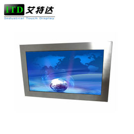 Outdoor Sunlight Readable Monitor 24 Inch Stainless Steel Display 50000 Hours MTBF