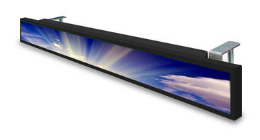 China DC 12V Ultra Wide Stretched Displays Screen Strip 34'' For Supermarket Store Shelf Edge factory