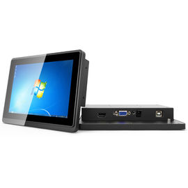 Small Industrial Touch Screen Monitor Flush Mount 7 Inch USB B Type Interface