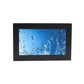 "IP65 Panel Rugged Industrial PC Computers Waterproof Connector 15.6"" IR Touch Screen"
