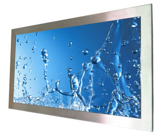IP65 Rugged Panel PC 65 Inch Rugged 316 Stainless Steel HDMI Input For Food Industry