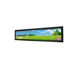 "Advertising Display Stretched Bar LCD Monitor 16.3""Shelf Edge Android Media Player"