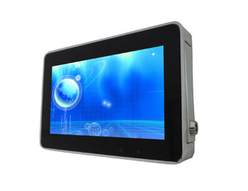 Wall Mounted Digital Signage Displays 7'' Media Player USB Port SD Card Plug And Play