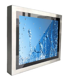 IP67 Waterproof 21.5 Inch Durable Rugged Industrial PC Pure Flat Bezel