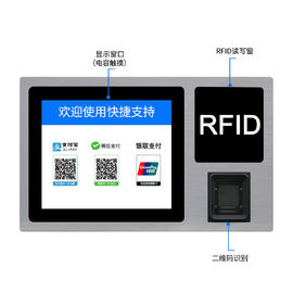 RFID Card Reader Rugged Panel PC 300 Nits Brightness NFC Wifi Terminal Machine